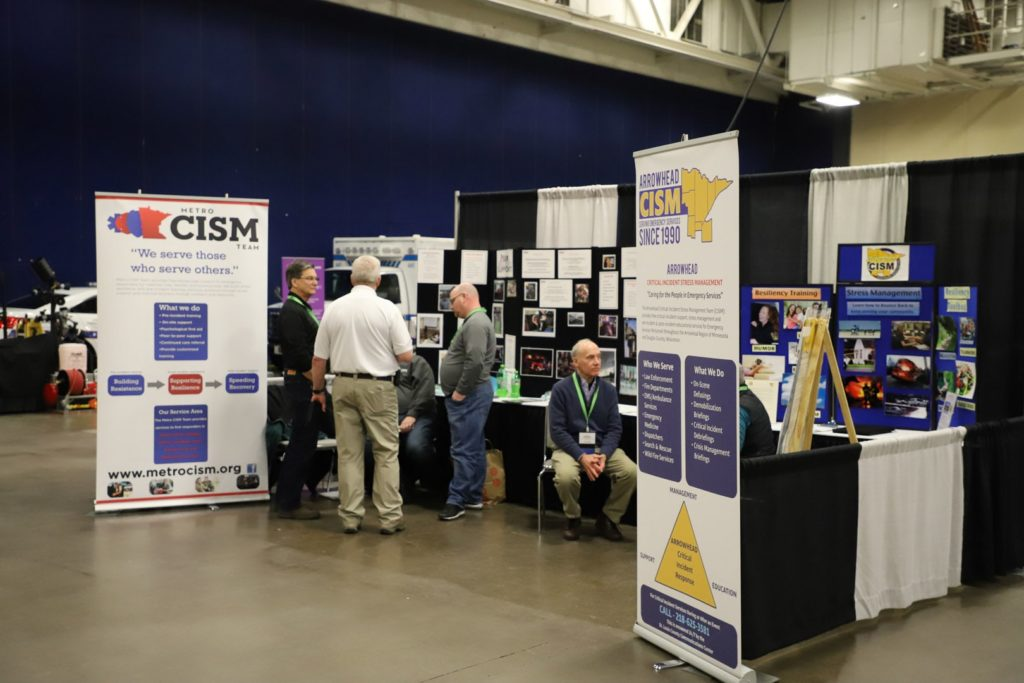 Booths at the Expo.
