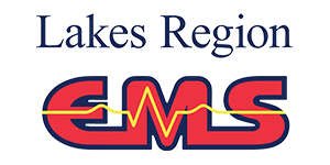 Lakes Region EMS logo.