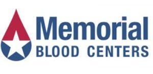 Memorial Blood Centers logo.