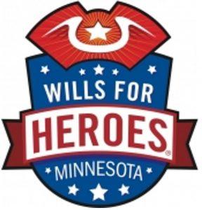 Wills for Heroes Minnesota logo.