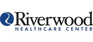 Riverwood Healthcare Center logo.